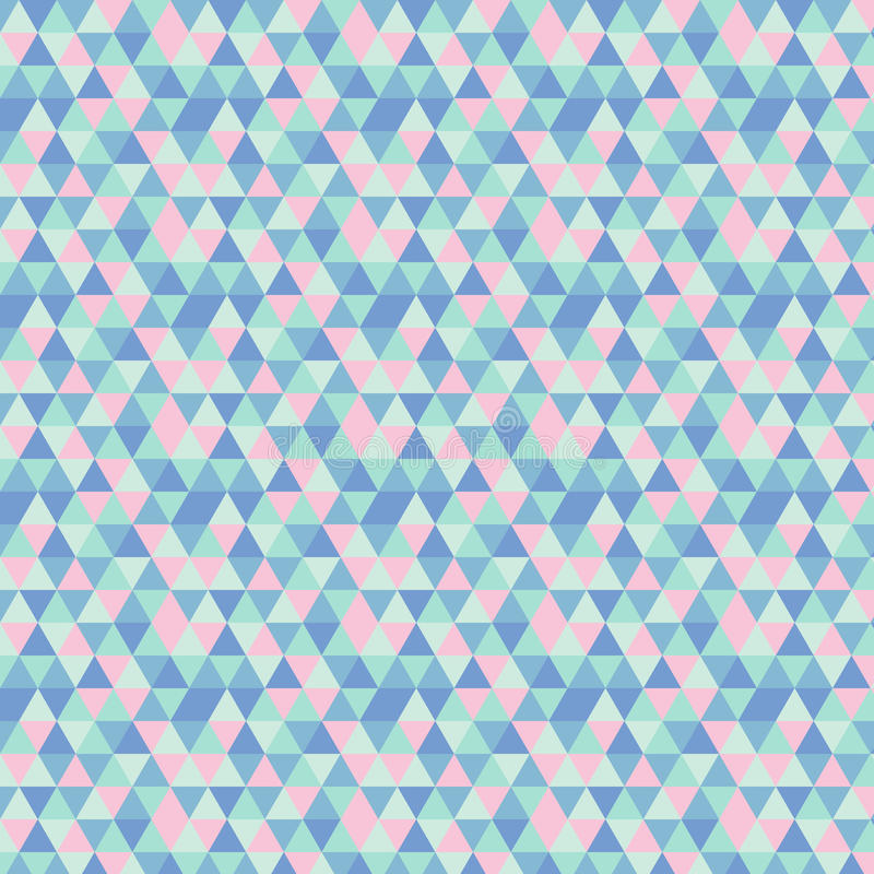 Geometric pattern with triangles placed randomly royalty free stock photography