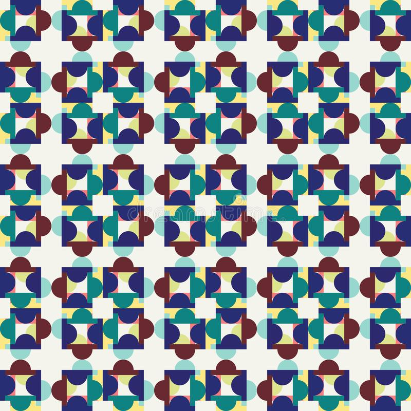 Geometric Pattern Vector. With Eps File royalty free illustration