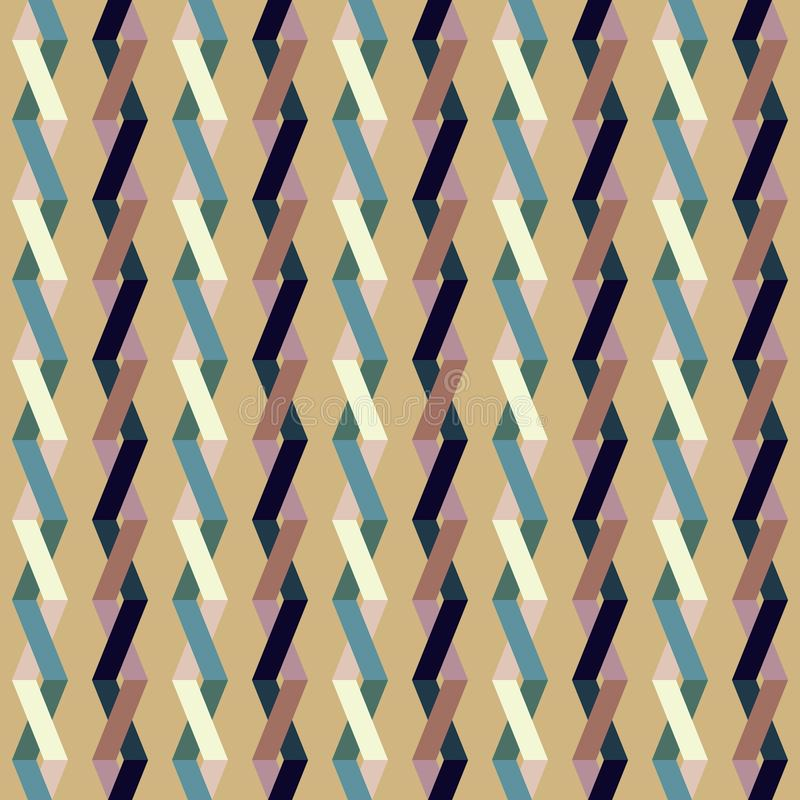 Geometric Pattern Vector. With Eps File stock illustration