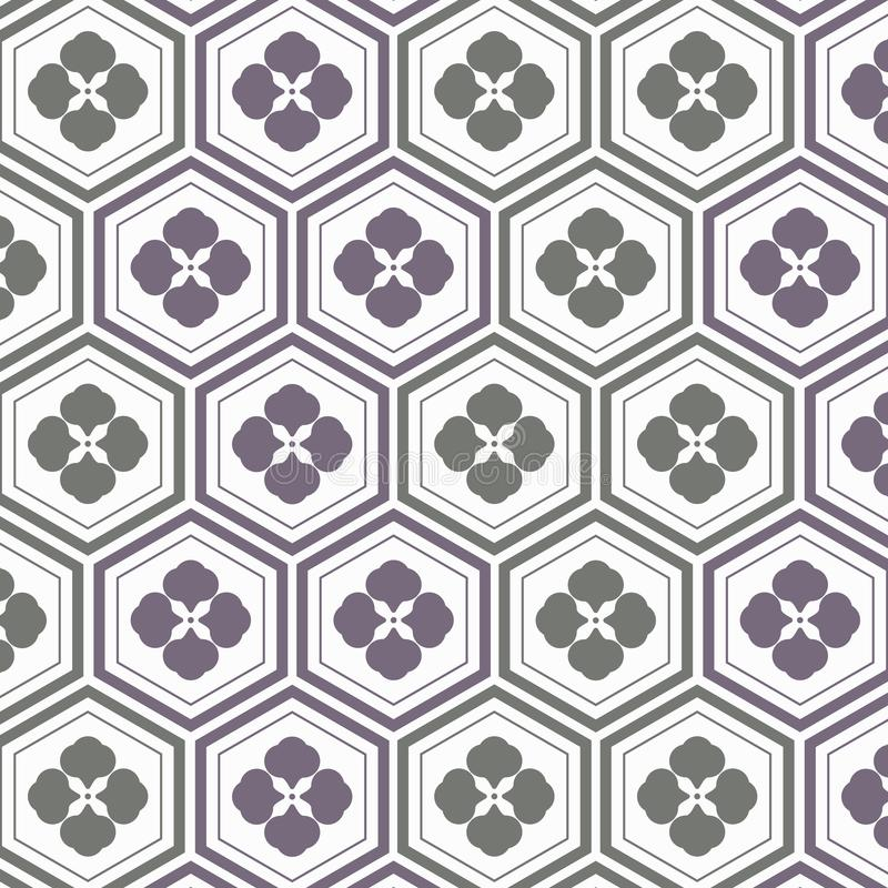 Download Geometric Pattern Vector. Pattern Is A Japanese Pattern Repeating  With Abstract Sakura Flower And