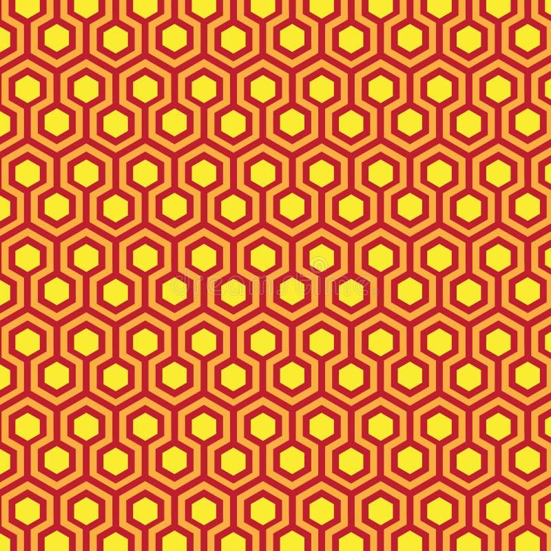 Geometric patterns Honeycomb vector illustration