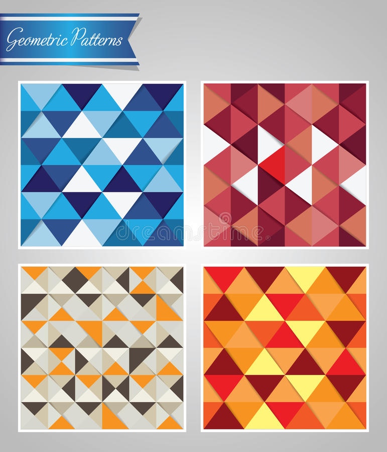 Download Geometric patterns stock illustration. Illustration of artistic - 39501640