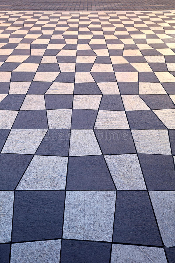 Download Geometric pavement stock image. Image of geometric, lines - 25645955