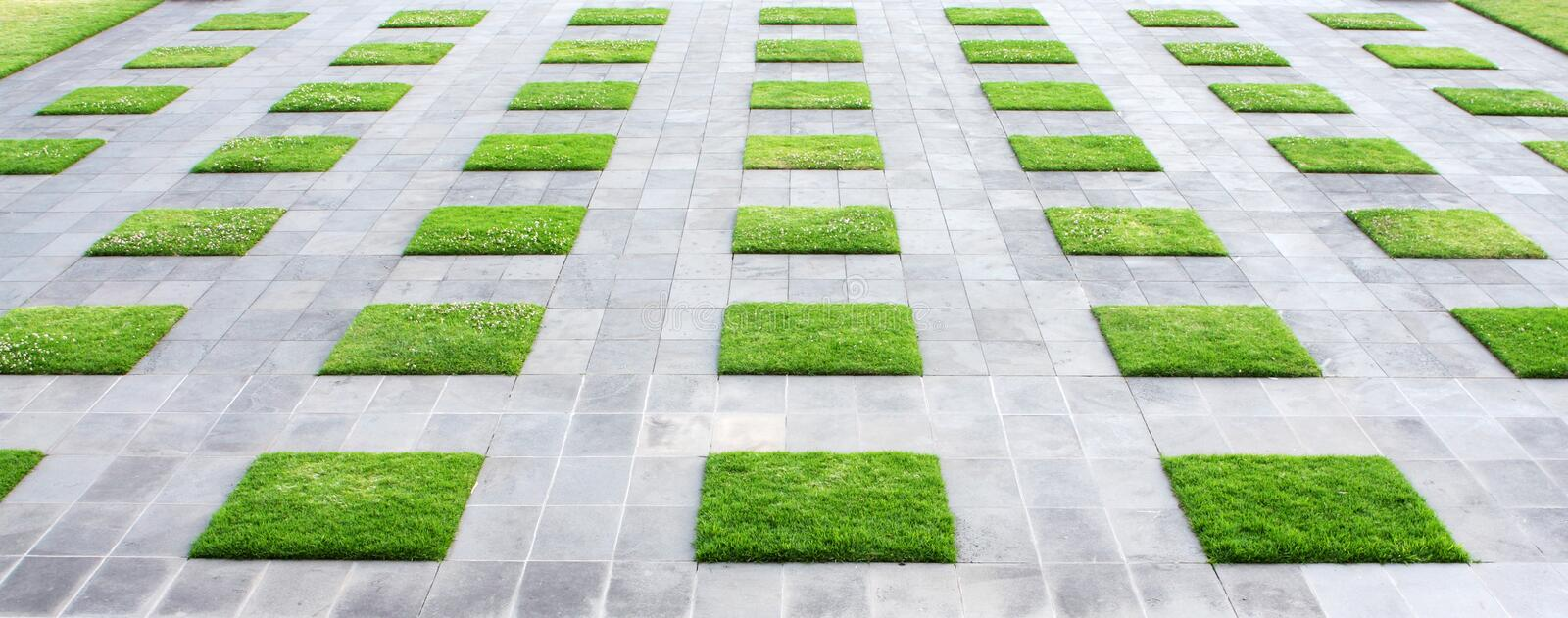 Geometric Paving stock images