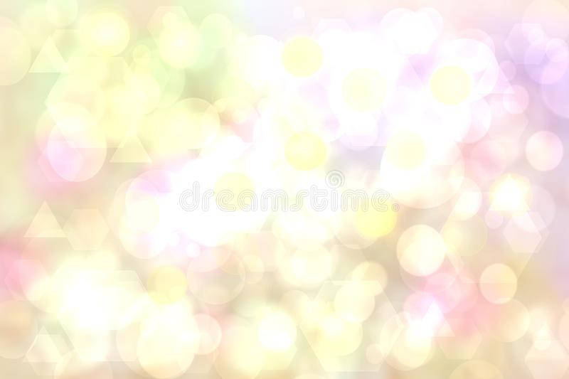 Geometric polygon background. Abstract delicate pastel background texture with geometric pentagon and triangles or an abstract royalty free illustration