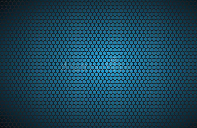 Geometric Polygons Background, Abstract Blue Metallic ...