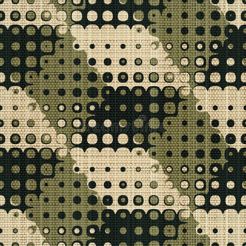 Geometric print stock illustration