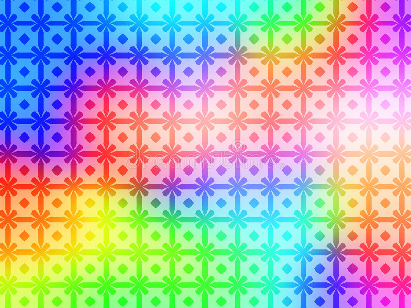Download Geometric Rainbow Pattern Background Wallpaper Stock Illustration - Image: 832587