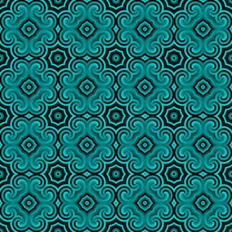 Geometric Seamless Pattern Royalty Free Stock Photo