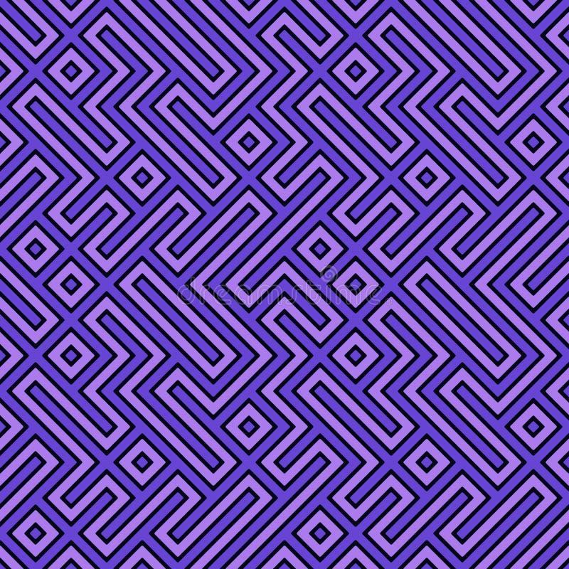 Download Geometric Seamless Pattern stock illustration. Image of infinite - 24730846