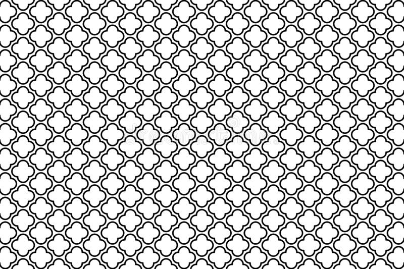 Geometric seamless pattern background. Illustration design. Concept style. Fabric, mosaic, wallpaper, art, lines, graphic, strip, flannel, repeat, wrapped royalty free illustration