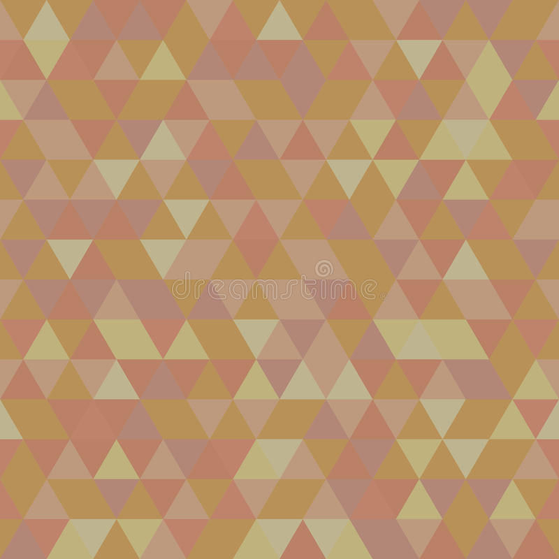 Geometric Seamless Pattern. Geometric colorful pattern with colored triangles. Seamless abstract background stock illustration
