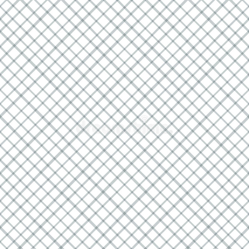 Geometric seamless pattern with cross lines royalty free illustration
