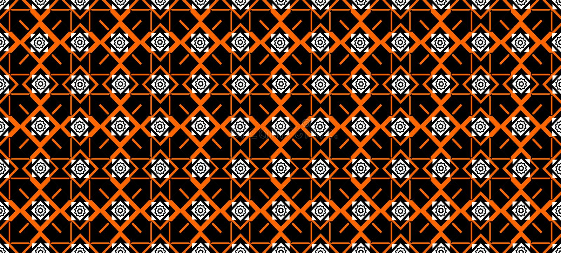 Geometric Seamless pattern Vector Design royalty free illustration