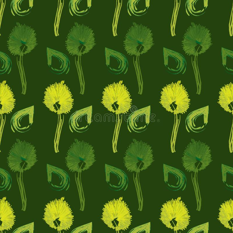 Geometric seamless repeat pattern. Vector illustration royalty free stock images
