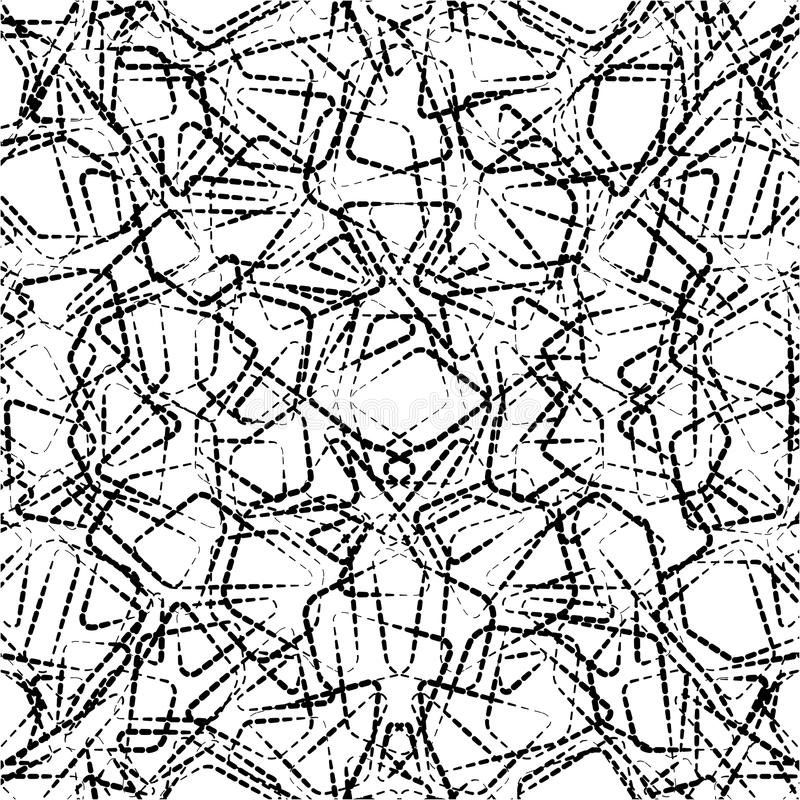 Geometric seamless simple pattern. Modern stylish texture for textile royalty free illustration