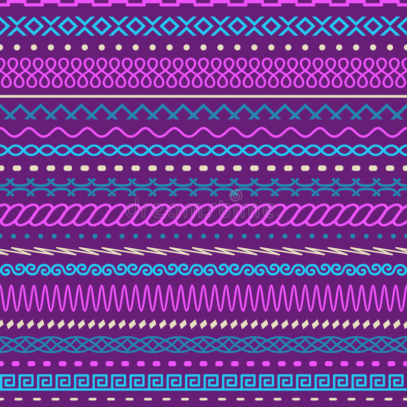Geometric seamless texture. A vector royalty free illustration