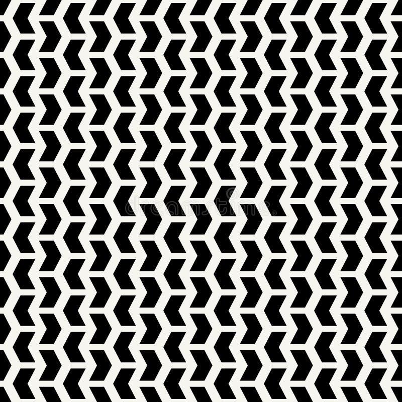 Geometric Seamless Vector Abstract Pattern stock illustration