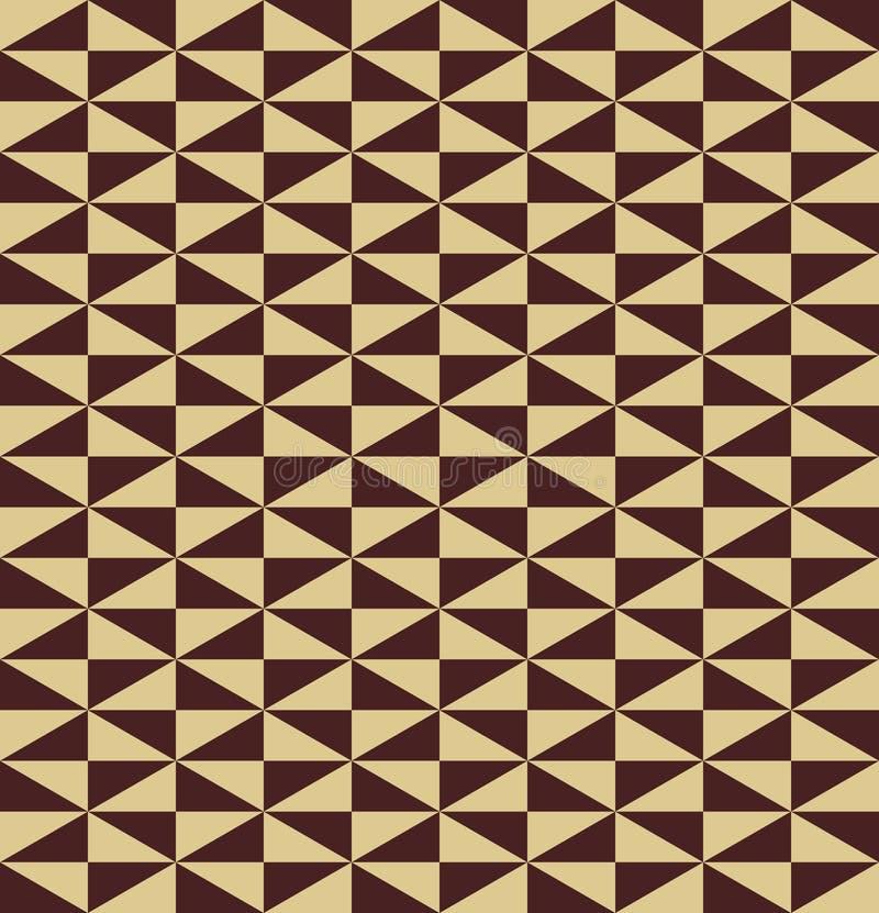 Geometric Seamless Vector Pattern royalty free illustration