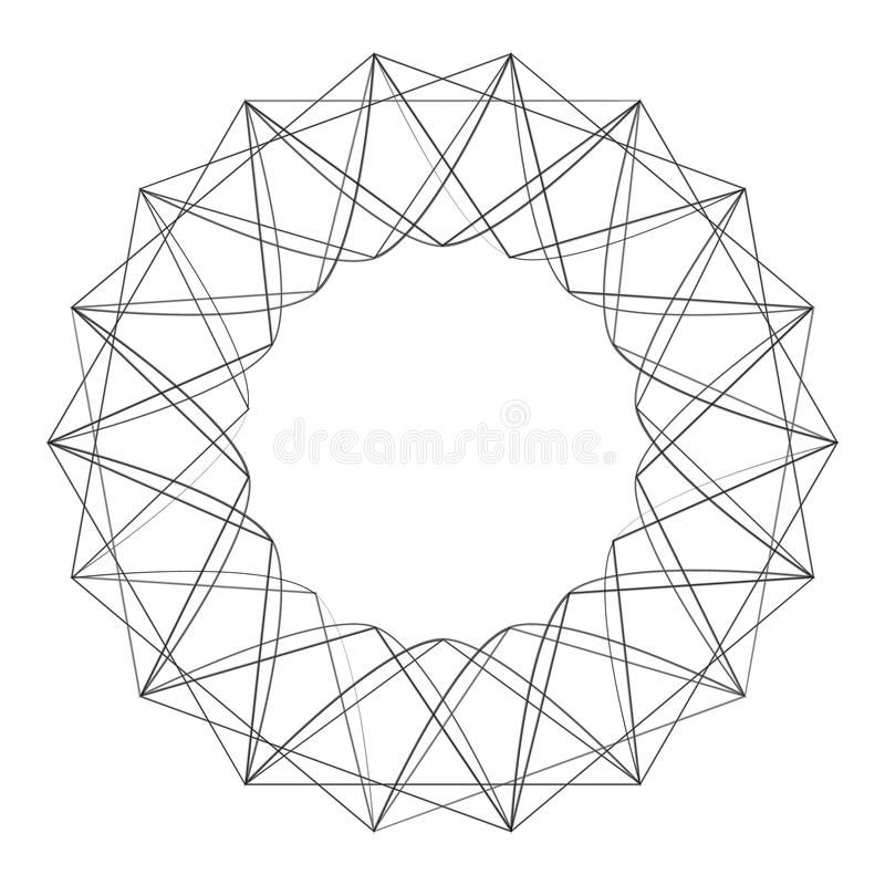 Geometric set for gifts and holidays pattern vector EPS10 royalty free stock images