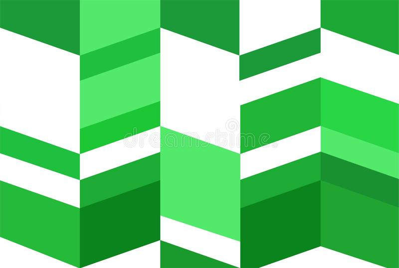 Geometric shape,illustration abstract background concept,close up modern green pattern stock illustration