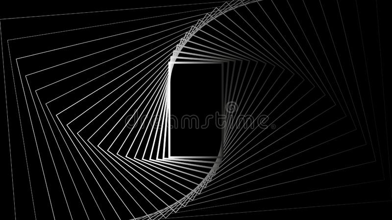 Geometric shape rectangle abstract secret background  vector design illustration royalty free illustration