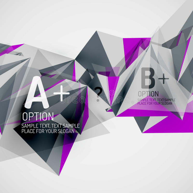 Geometric shapes in the air. Vector abstract. 3d geometric shapes in the air. Vector abstract background. Business futuristic presentation layout or web vector illustration