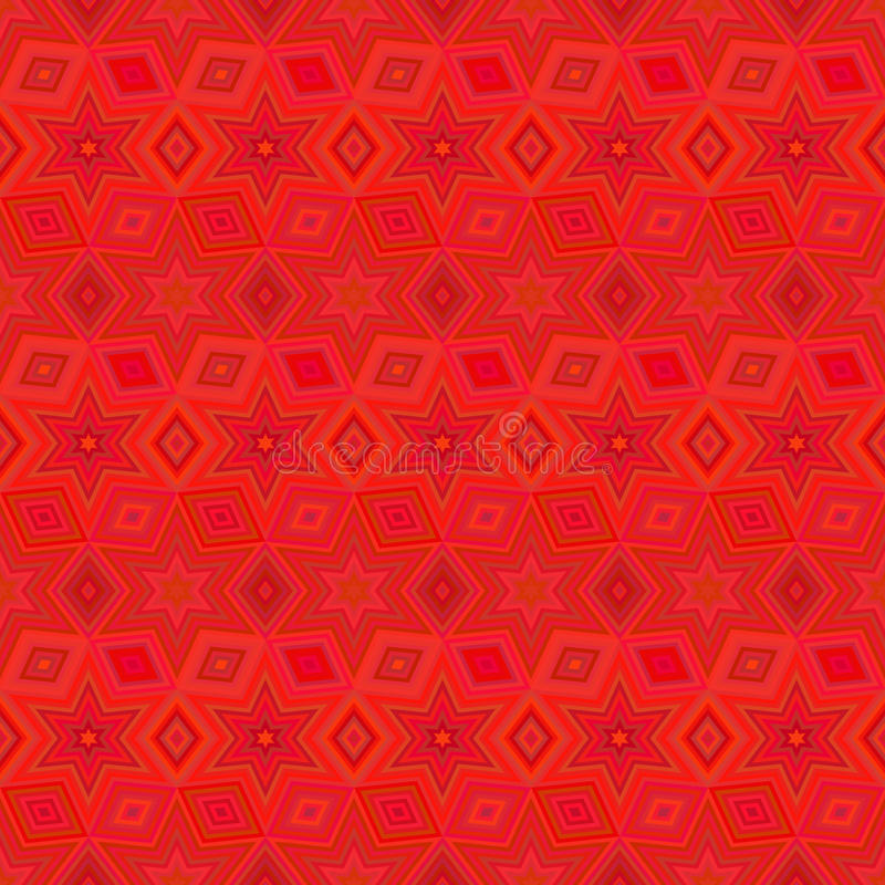 geometric star seamless pattern.Fashion graphic design.Vector illustration. Background design.Optical illusion 3D Modern stylish stock illustration