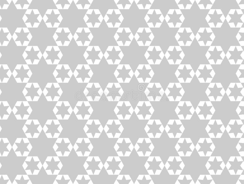 Geometric stars seamless pattern.Fashion graphic design.Vector illustration. Background design. Asian bakground. Modern stylish ab. Stract texture. Template for royalty free illustration