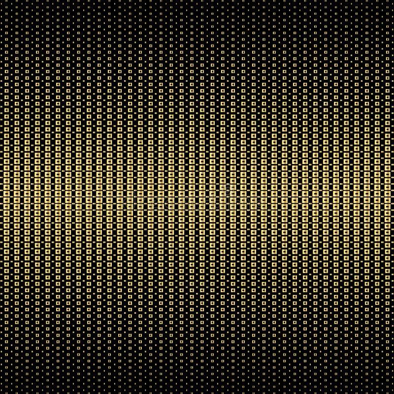 Geometric, stylish, halftone gold background. illustration. Geometric, stylish retro halftone gold background vector illustration stock illustration