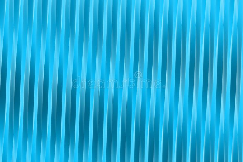 Cute light blue 3D Illustration of abstract background - geometric surfaces formed with extruded star shape, celebration concept vector illustration