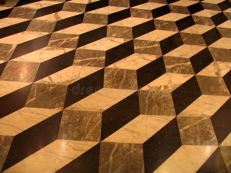 Geometric tiles stock photography