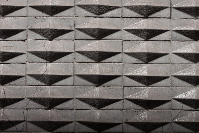 Geometric tiles texture background royalty free stock photo