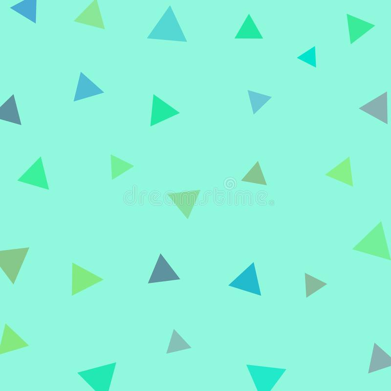 Geometric triangle with pastel color background for printing.Creative Design Templates , illustration royalty free illustration