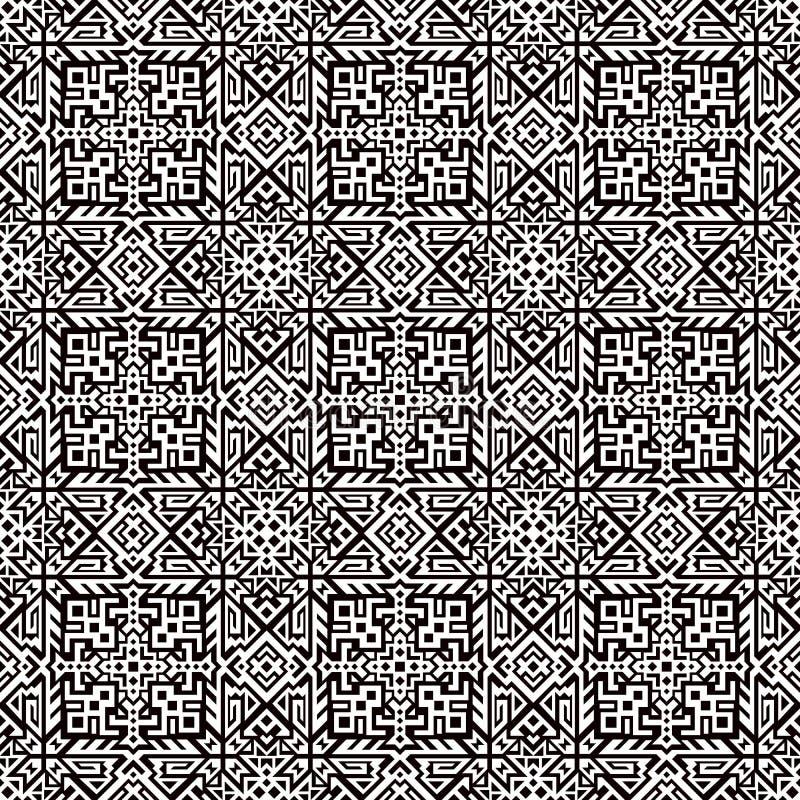 Geometric Vector Seamless Pattern royalty free illustration