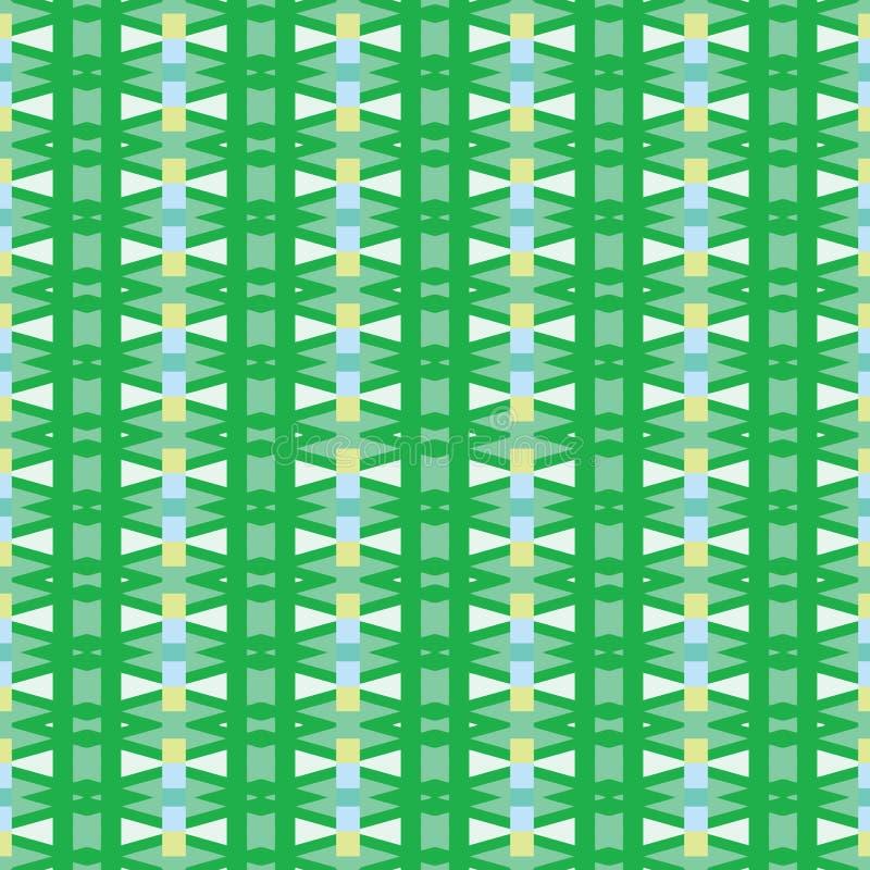 Geometric wallpaper 67. Geometric wallpaper vector seamless pattern royalty free illustration