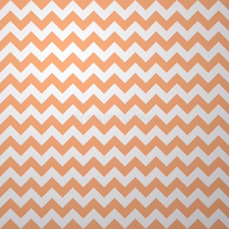 Geometric Wave Vector Fabric Pattern. vector illustration