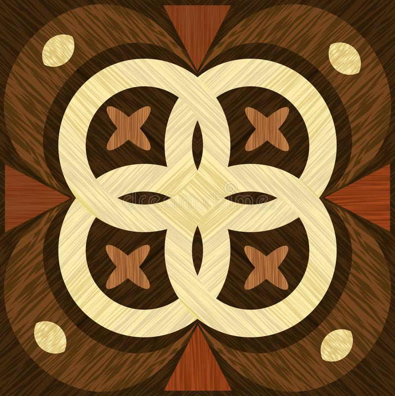Download Geometric Wooden Inlay Template Light And Dark Wood Patterns Art Decoration