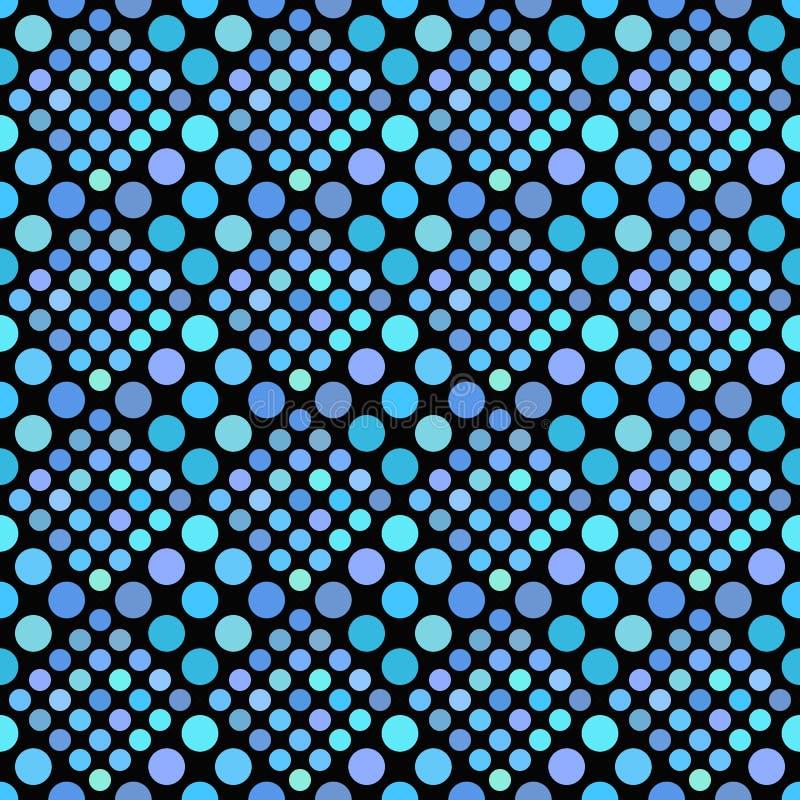 Geometrical abstrakcjonistyczny b?awy kropka wzoru t?a projekt ilustracji