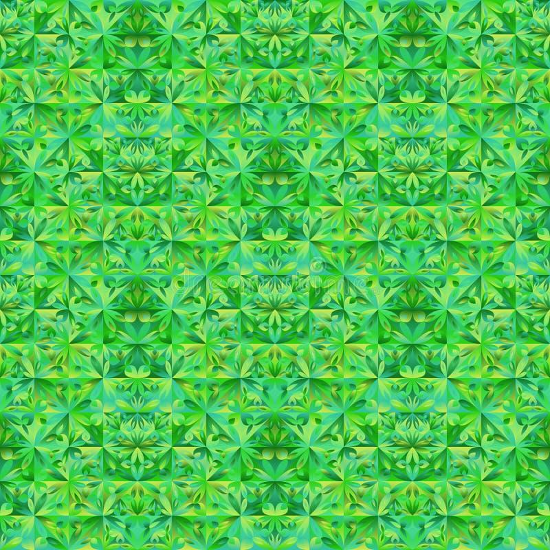 Geometrical abstrakcjonistyczny kwiecisty mozaika wzoru t?a projekt ilustracji