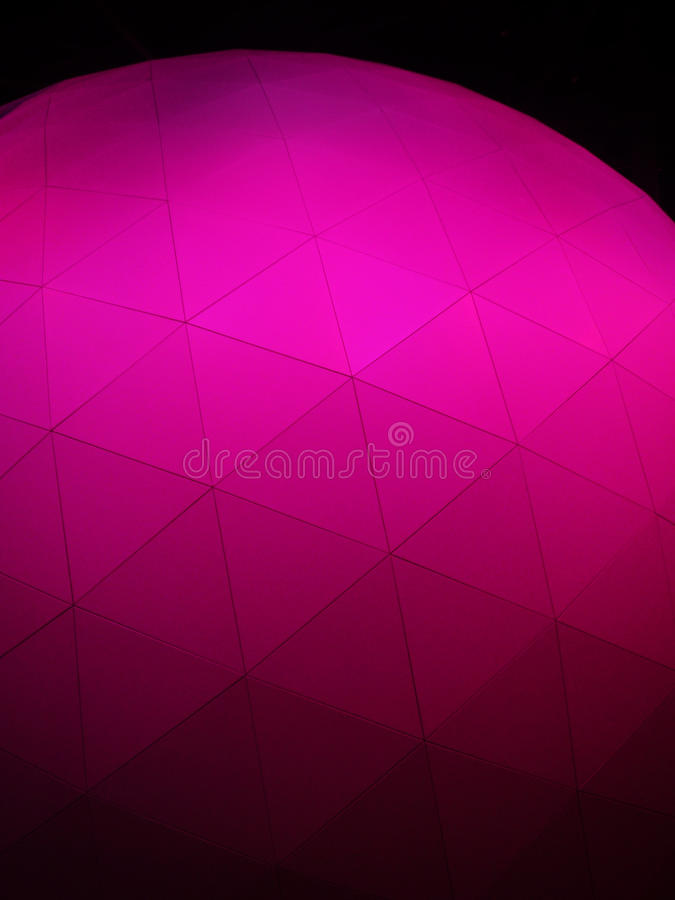 Geometrical dodecahedron ball background. A simple and elegant scientific background photograph image of a symmetrical 3 dimensional shape of a dodecahedron made royalty free stock photos