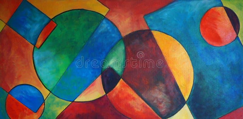 Geometrical konstruktywnie abstrakcja zdjęcie stock