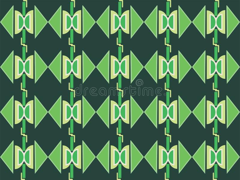 Geometrical shape repetitive traditional ethnic pattern background 95. Geometrical repetitive ethnic background pattern suitable for book cover, wallpaper royalty free illustration