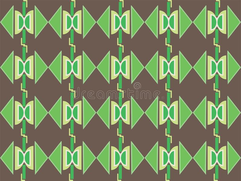 Geometrical shape repetitive traditional ethnic pattern background 99. Geometrical repetitive ethnic background pattern suitable for book cover, wallpaper vector illustration