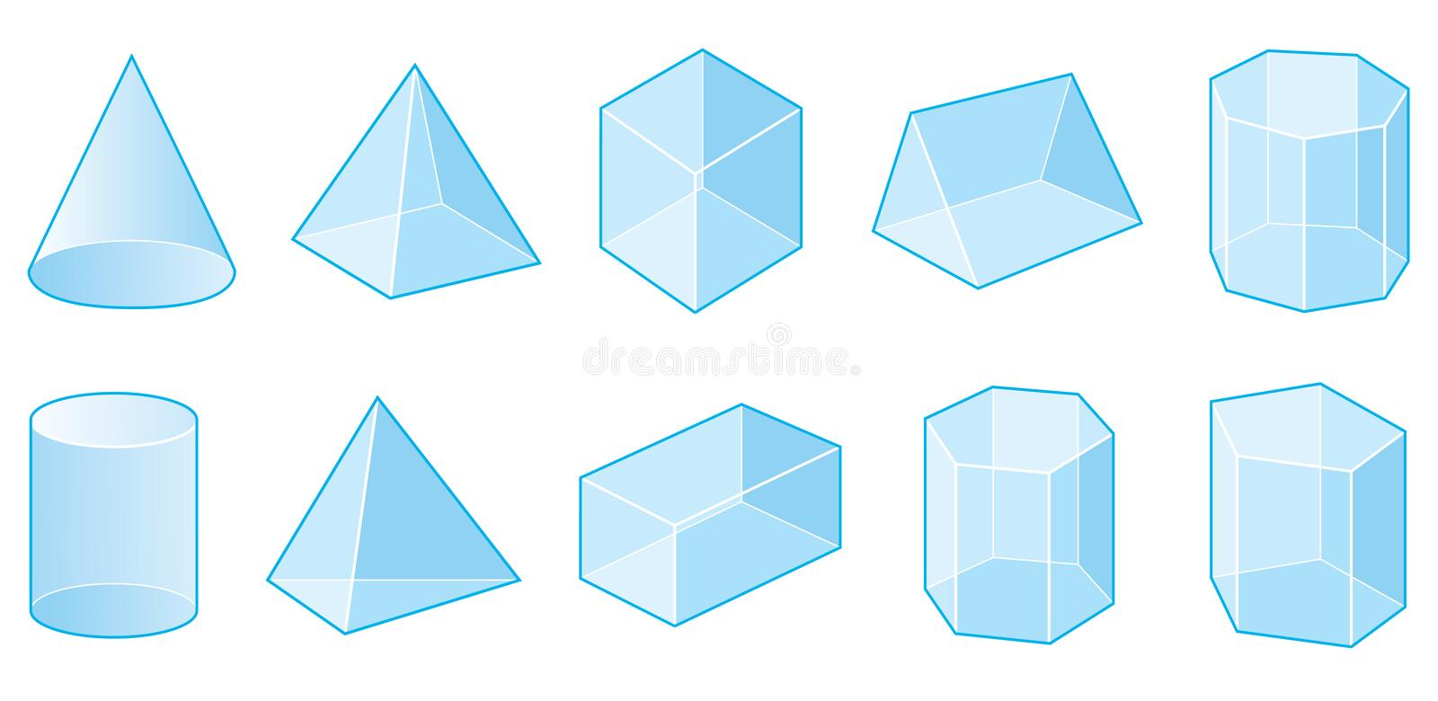 Download Geometrical Shapes stock vector. Illustration of abstract - 9721895