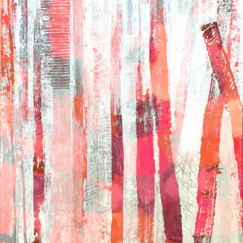 Geometrical watercolor texture repeat modern pattern. Watercolor texture repeat modern pattern vector illustration