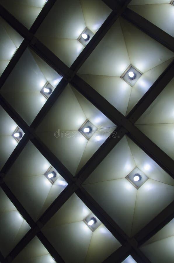 Geometrico astratto Dettagli interni architettonici fotografie stock