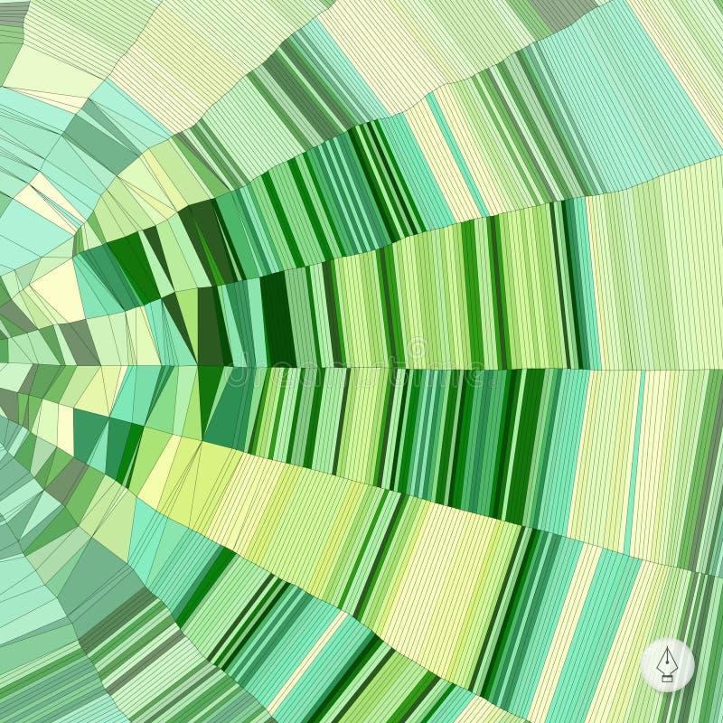 Geometrico astratto mosaico Vettore illustrazione di stock