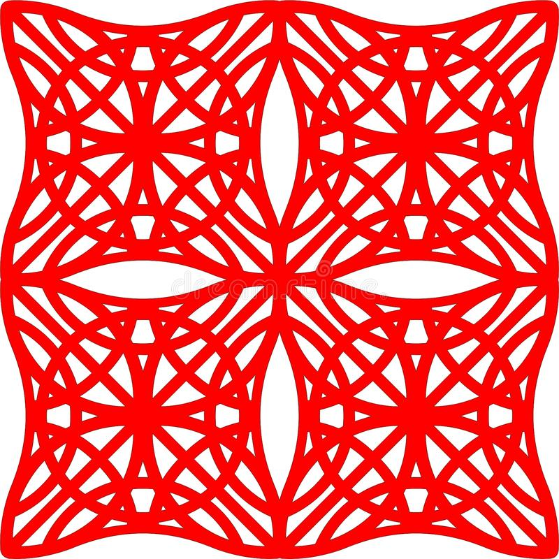 Geometrico Mod4 royalty free stock photography