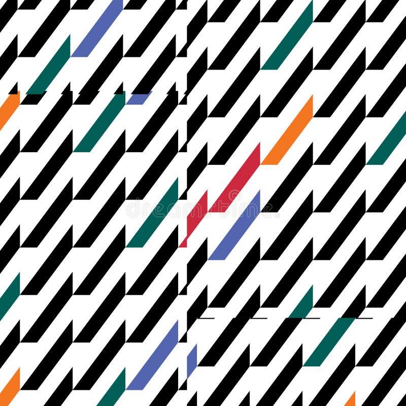 Geometrics kolory royalty ilustracja